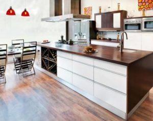 Tipos de madera para cocinas