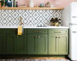 color verde para cocinas 2019