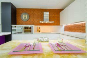 cocinas integradas al salón