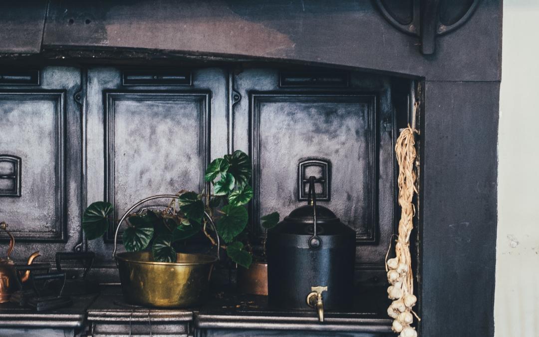 ¿Cómo decorar una cocina vintage?