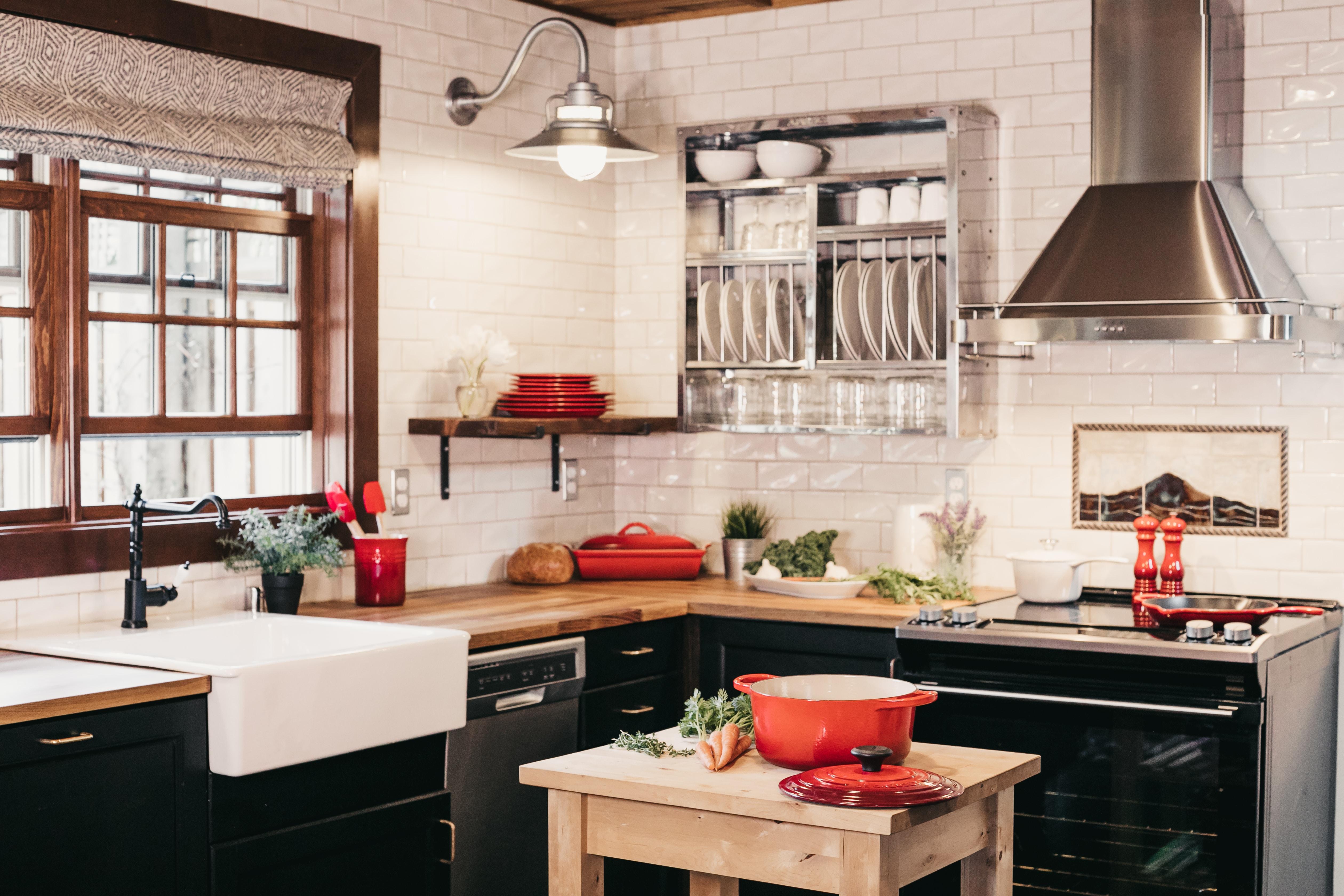 revestimiento paredes cocina vintage