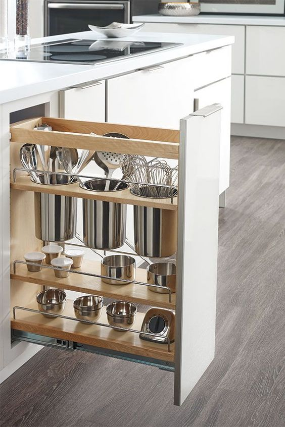 cajones elementos imprescindibles cocina