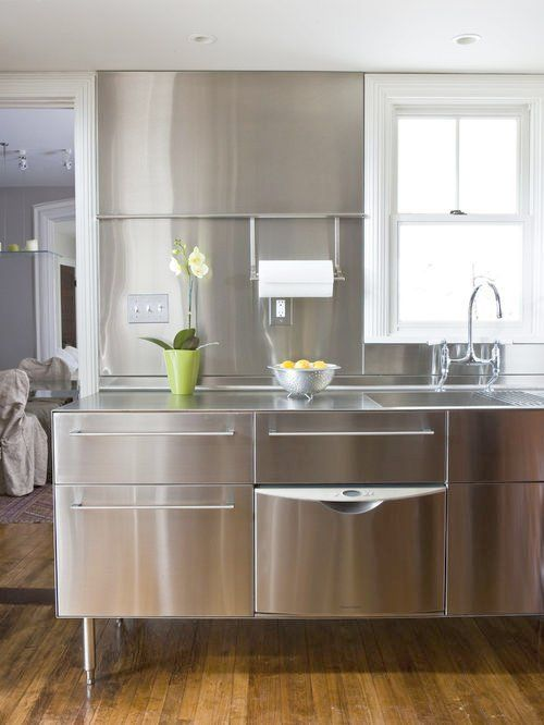 encimera cocina acero inoxidable