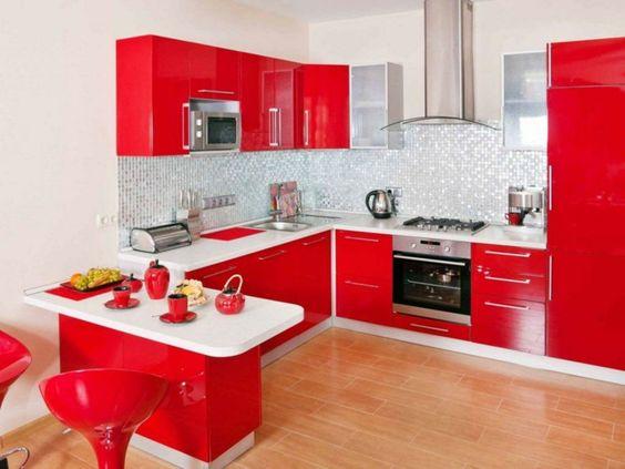 ¿Diseño mi Cocina en Rojo? ¡Sí!