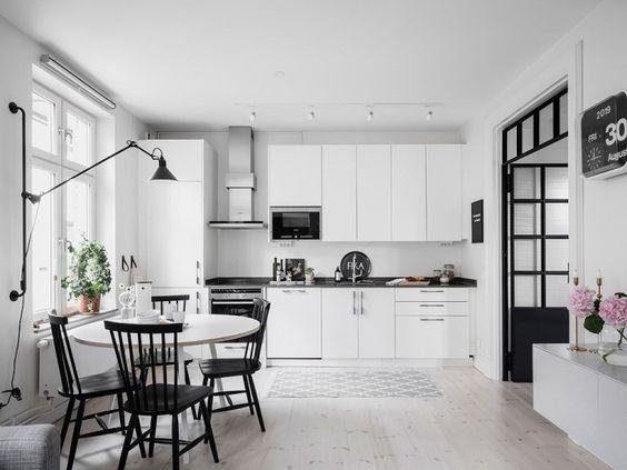 combinar cocinas blancas